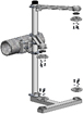 STAINLESS STEEL 3M 2-WAY CLUSTER SIGNAL MOUNT – BAND STYLE